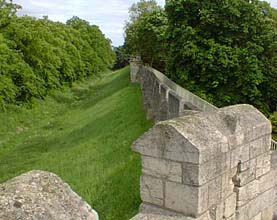 York wall and Moat